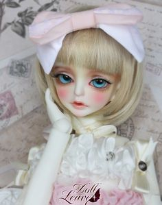 Amara - Doll Leaves 1/4 Girl Super Doffie MSD size Ball Jointed Doll BJD Girl #Dolls