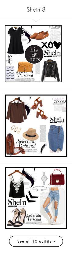 """Shein 8"" by zina1002 ❤ liked on Polyvore featuring Gottex, H&M, Kate Spade, Bling Jewelry, Kershaw, Linda Farrow, NARS Cosmetics, Christian Dior, Miu Miu and Nicole Romano"
