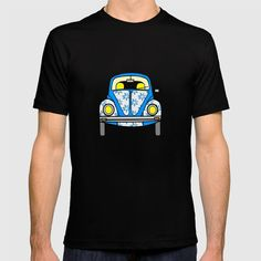 American Apparel T-shirts are made with fine jersey cotton combed for softness and comfort. (Athletic Grey and Athletic Blue contain polyester / cotton / rayon) American Apparel, Pop Art, Tee Shirts, Cute, Mens Tops, Stuff To Buy, Retro Print, Vw Volkswagen, Beetle