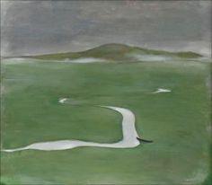 H., Einar Reuter Ahtela - Joki Tunturimaisemassa.