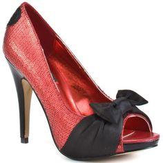 Iron Fist Jens Heart Heel Red Shoes: UK 4