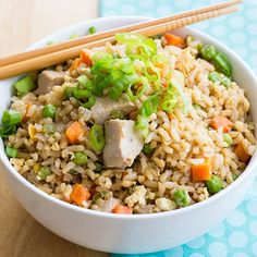 Recipe: Skinny Chicken Fried Rice | Skinny Mom | Where Moms Get the Skinny on Healthy Living