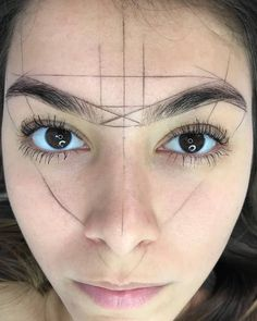 - (notitle) - microblading - (no Eyebrow Makeup Tips, Permanent Makeup Eyebrows, Beauty Makeup, Eye Makeup, Mircoblading Eyebrows, Eyeliner, Maquillage Yeux Cut Crease, Eyebrow Design, Henna Brows