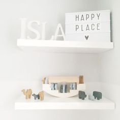 Lovely light boxes - Available in A5 and A4. Pick your own Quote - Symbol set also available - www.vanmariel.nl