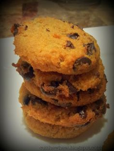 Low Carb, Grain Free, Gluten Free, (So Close To) Sugar Free Chocolate Chip Cookies (#3)