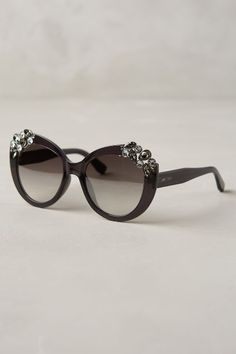 3b5ab5ee45 Jimmy Choo Megan Jeweled Sunglasses - anthropologie.com #anthrofave  Anteojos, Gafas De Sol