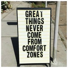 Get out of your f*cking comfort zone - it will change so much for good Self Love Quotes, Words Quotes, Quotes To Live By, Me Quotes, Motivational Quotes, Inspirational Quotes, Sayings, Qoutes, Positive Vibes