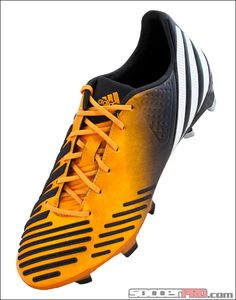 6dd0067fafee adidas Predator LZ TRX FG Soccer Cleats - Bright Gold with Running White  and Black.
