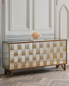 Yarbrough Eglomise Console