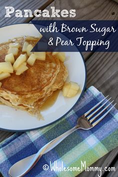 Pear Topping for Pancakes From WholesomeMommy.com