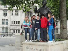 Nelson Mandela. London