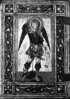 Saint Michael Copy after Neroccio de' Landi (Italian, before 1907). Метрополитен музей.