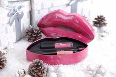 Mein liebster Bloggeradvent mit Huda Beauty / Gewinnspiel Liquid Lipstick, Beauty, Games, Beauty Illustration