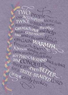 Ecclesiastes 4:9-12
