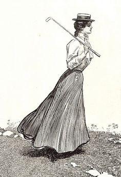 Gibson girl - golf