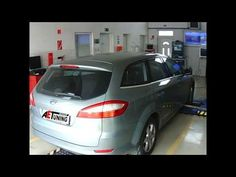 Ford Mondeo 2 0TDCI 115LE DYNO AET Chiptuning referencia videó