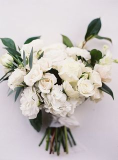 White Wedding Bouquet | Brides.com
