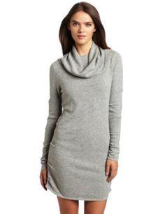 Nicole Miller Womens Long Sleeve Tucked Dress