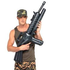 b676437db7dd redneck party decorations inflatable gun Army Fancy Dress, Fancy Dress  Props, Cheap Fancy Dress