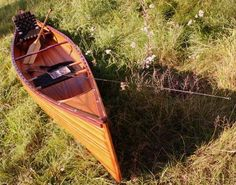 Canoe for Sale - Paddling Wooden Canoe | Wooden Boat USA