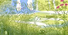 产品包装配图-版画 Clare Melinsky | Illustrators | Central Illustration Agency