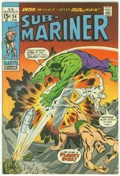 sub marinor | Sub-Mariner Vol 1 34 - Marvel Comics Database