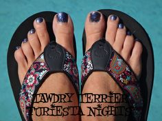 """@TawdryTerrier """"Furiesta Nights"""" (SOLD OUT) - check out our polishes at https://www.etsy.com/shop/TawdryTerrier #nailpolish #indienailpolish #tawdryterrier"""