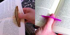 """Il """"reggi libro"""" da dito e altre comodità per leggere - Il Libraio"""