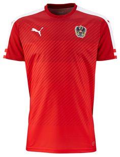 Austria (Österreichischer Fußball-Bund) - 2016 UEFA Euro Puma Home Shirt