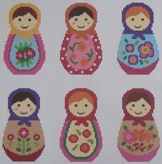 babushka cross stitch