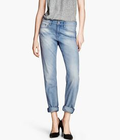 boyfriend jeans.  love the look of the front.  hate the look of the back.