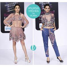 Contemporary Styles from Anjana Misra. Shop her collection on Vilara. #anjanamisra #designerwear #westernwear #ethnicwear #premium #vilara