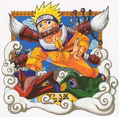 Capa do primeiro mangá de Naruto