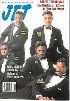 Jet magazine...The Fivehearts ...Robert Townsend