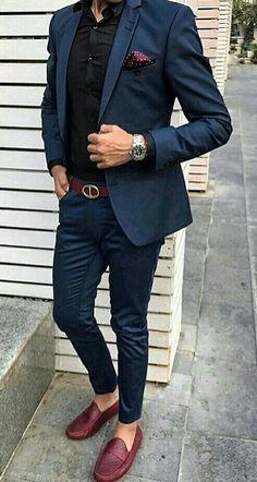 Raddestlooks: The Best Men's Fashion Outfit Collection. Best Mens Fashion, Mens Fashion Suits, Classy Mens Fashion, Gq Fashion, Fashion Photo, Style Fashion, Fashion Outfits, Mens Tailored Suits, Mens Suits