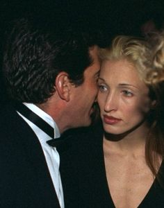 carolyn bessette kennedy, What a beautiful image, their moment/whisper caught on camera... very tragic too