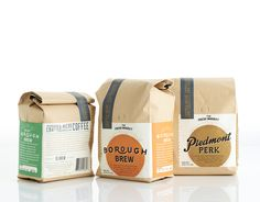 Packaging Design The Dieline Awards The Fresh Market Artisan Coffee — The Dieline Craft Packaging, Food Packaging Design, Coffee Packaging, Coffee Branding, Bottle Packaging, Packaging Design Inspiration, Branding Design, Coffee Labels, Coffee Fonts