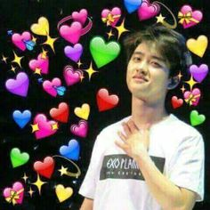 Read 18 [KaiSoo Chat] from the story Pasivas ; EXO by -KeyDxddy (─ ❅・゚⊹✦ 𝓹𝓾𝓽𝓲𝓽𝓪) with reads. Kyungsoo, Kaisoo, Chanyeol, Chanbaek, Memes Exo, Funny Kpop Memes, Meme Pictures, Reaction Pictures, Meme Faces