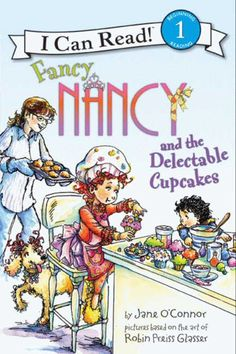 I Can Read Book 1 Fancy Nancy and the Delectable Cupcakes    By Jane O'Connor / Available at www.BookLodge.com - Lowest Priced English and Chinese Online Bookstore for Children and Parents Worldwide