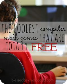 Computer math games for all ages. There are over 300 games and no membership or sign ups.