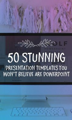 On the Creative Market Blog - 50 Stunning Presentation Templates You Won't Believe are PowerPoint