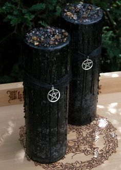 Witches Magick Alchemy Pillar Sacred