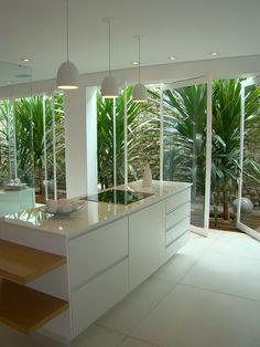 Ideas Kitchen Sink Lighting No Window Decor, House Design, Patio Kitchen, Interior Garden, House Interior, Apartment Decor, Home Interior Design, Kitchen Decor Apartment, Patio Interior