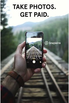 If you take beautiful photos, you should probably download this app and get paid for them :)