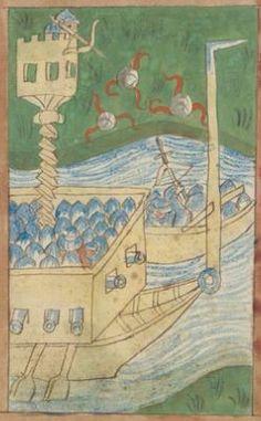 Kriegstechnik (Bilderhandschrift) Oberrhein · um 1420-1440 Ms. Rh. hist. 33b  Folio 151r