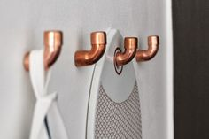La petite fabrique de rêves: Do It Yourself : Des patères copper ...