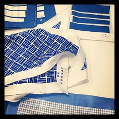 Silk Pocket Square and Scarves, preview S/S 13 #menswear #SS13 #DeFursac