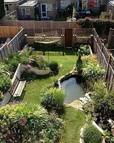 Pond Design, Small Backyard Design, Landscape Design, Design Design, Bog Garden, Garden Cottage, Garden Site, Ponds Backyard, Backyard Landscaping