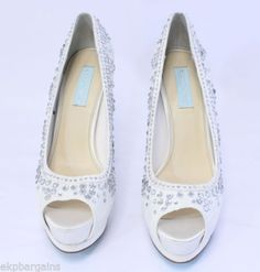 Blue-by-Betsey-Johnson-Womens-Vow-Pump-Shoes-Ivory-Size-10-Medium
