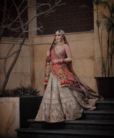 038e6c0ab7 Pinterest: @pawank90 Pakistani Wedding Outfits, Asian Wedding Dress, Saree  Wedding, Tamil
